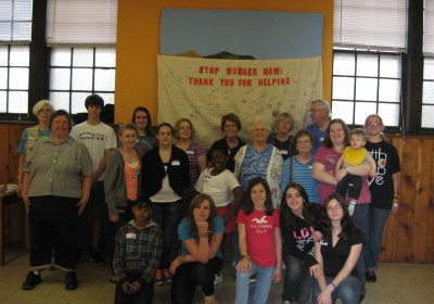 BUMC participates in STOP HUNGER NOW